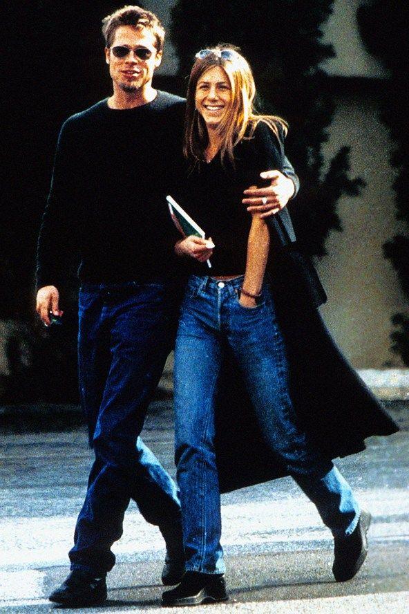 Brad Pitt and Jennifer Aniston | Friends in 2019 ...