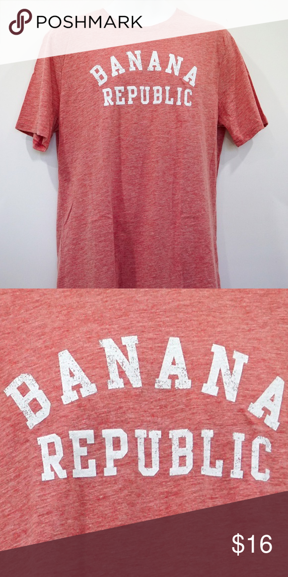 Selling this Banana Republic Vintage Red Logo Graphic Tee