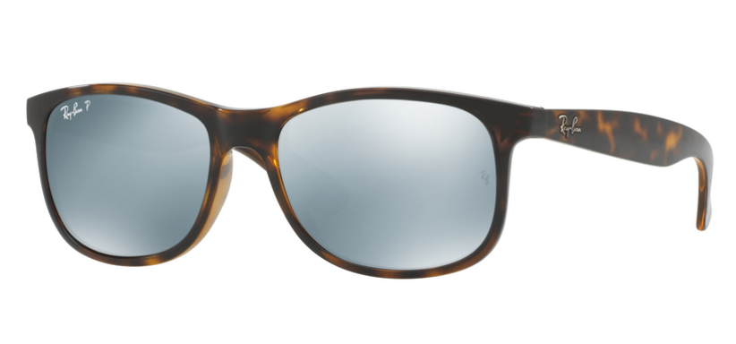 9ebe0a10ca Ray-Ban for man rb4202 (ANDY) - 710  Y4 (SHINY HAVANA  green mirror silver  polar)