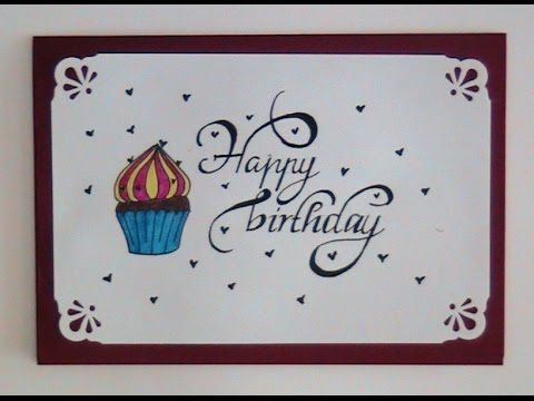 How To Write Cursive Fancy Letters Happy Birthday For Birthday