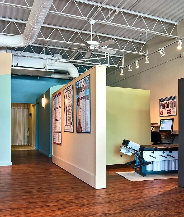 Pin by Maura Fletcher on Chiropractic office design