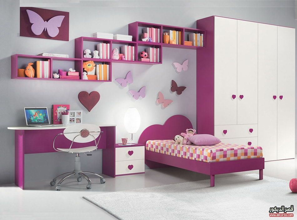 ديكورات غرف نوم اطفال Decor Bedrooms For Children قصر الديكور Modern Kids Bedroom Kids Bedroom Sets Kids Bedroom Decor