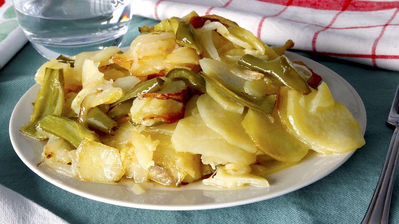Patatas A Lo Pobre Cocina A Buenas Horas Receta Nuevas Recetas Recetas De Comida Recetas Con Patatas