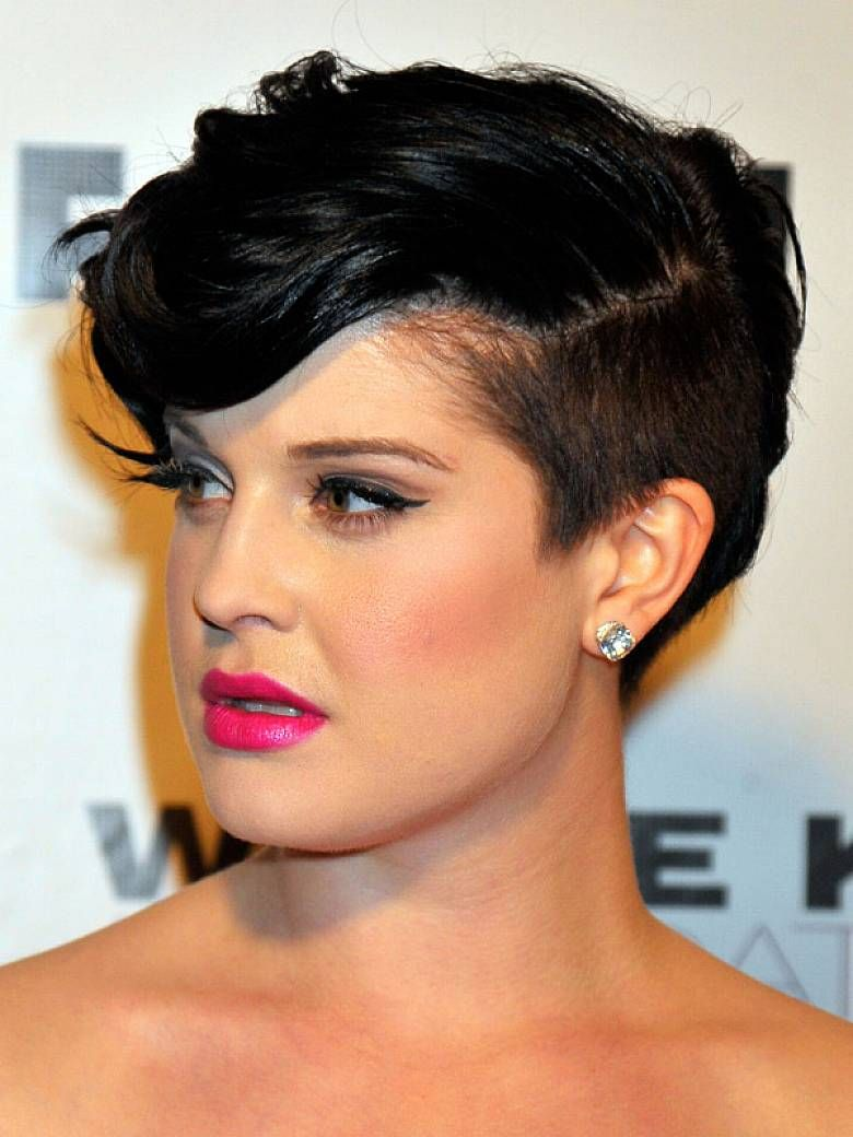 Short undercut punk hairstyle for ladies hair pinterest short