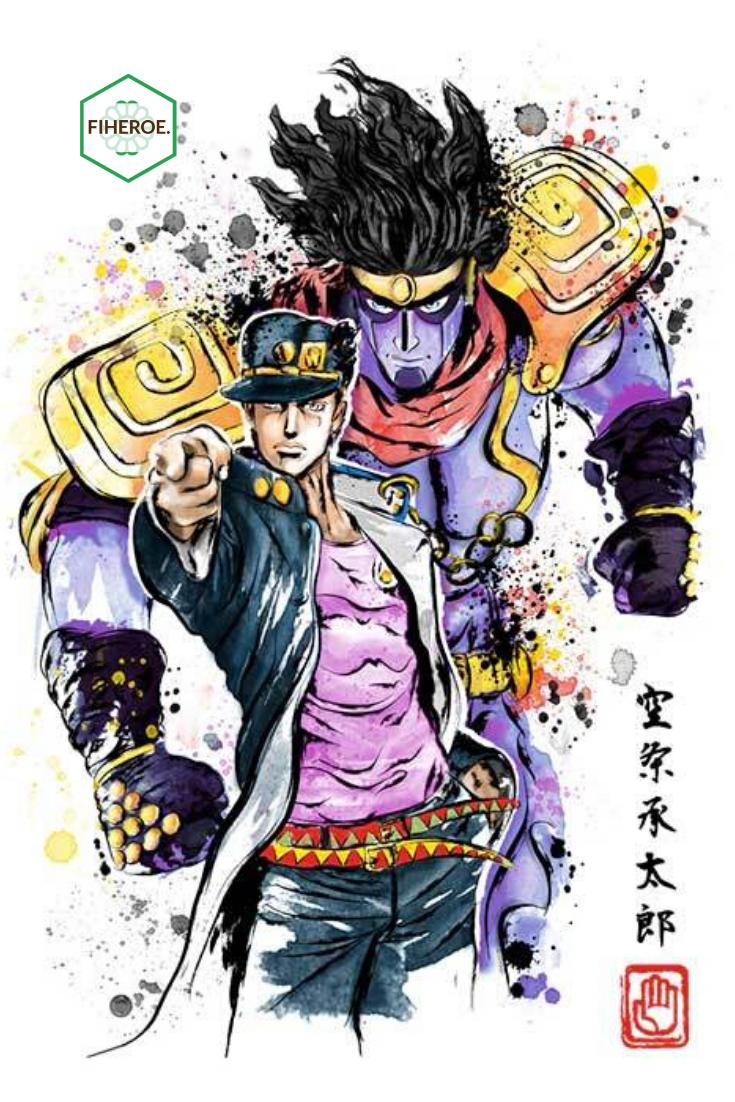 Jotaro Kujo Star Platinum Anime Hoodie Jojos Bizarre Adventure Jotaro Jojo Bizarre Jojo Bizzare Adventure