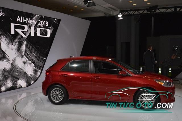 Kia Rio 2018 vừa ra mắt tại New York Auto Show 2017 có gì mới