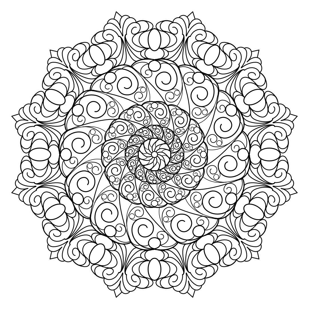Mandala Madness Series2 Book3. Printable PDF coloring ...