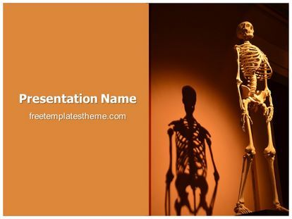 get this #free #human #skeleton #powerpoint #template with, Skeleton