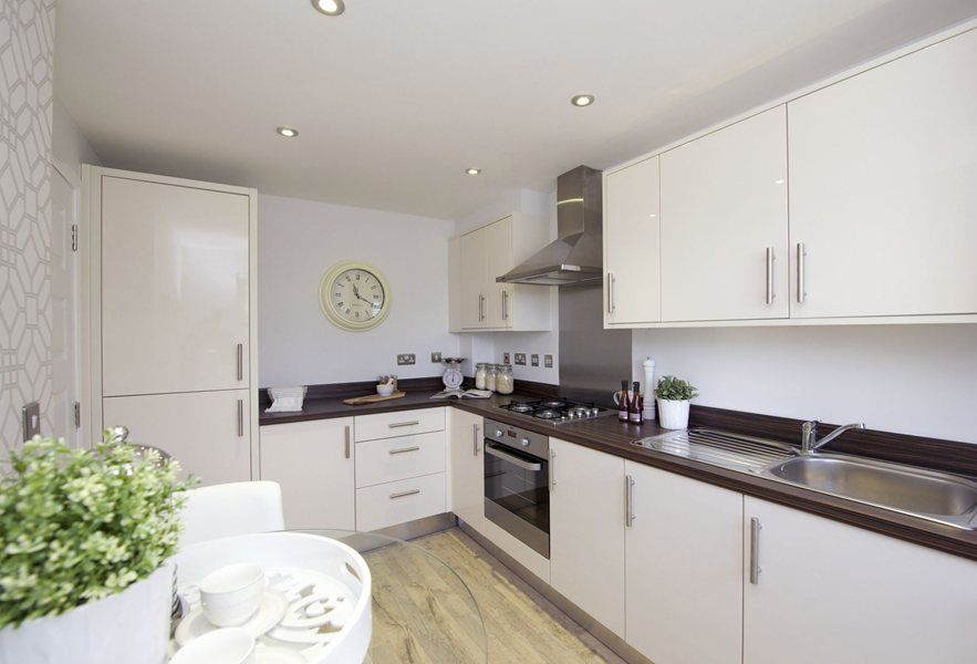 Vision Barratt Homes Keighley Kitchen Ii