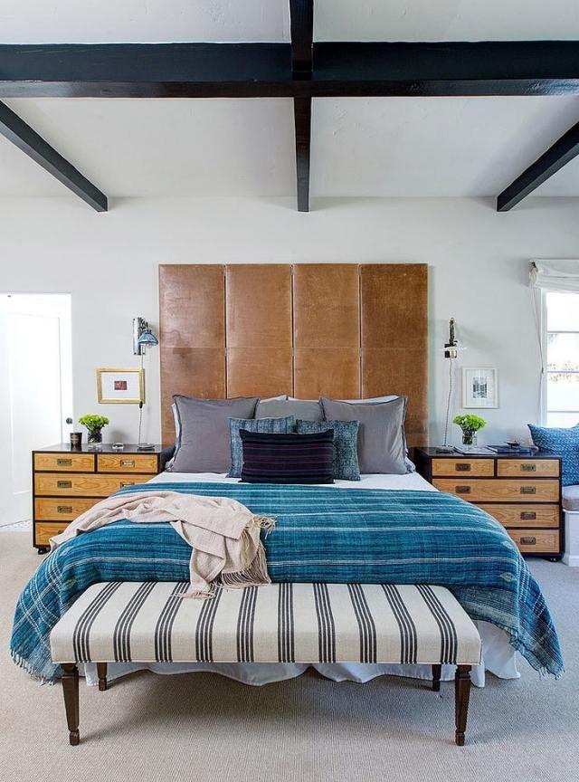 107 idées de déco murale et aménagement chambre à coucher Bedrooms