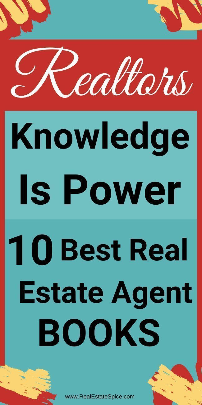 10 Best Real Estate Agent Books You Don't Want To Miss