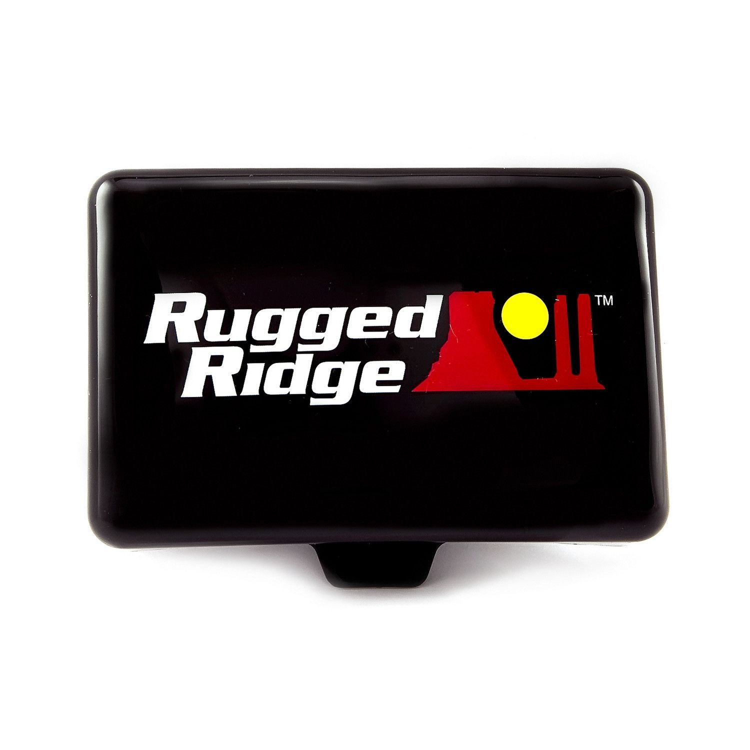 5 Inch x 7 Inch Rectangular Off Road Light Cover, Black