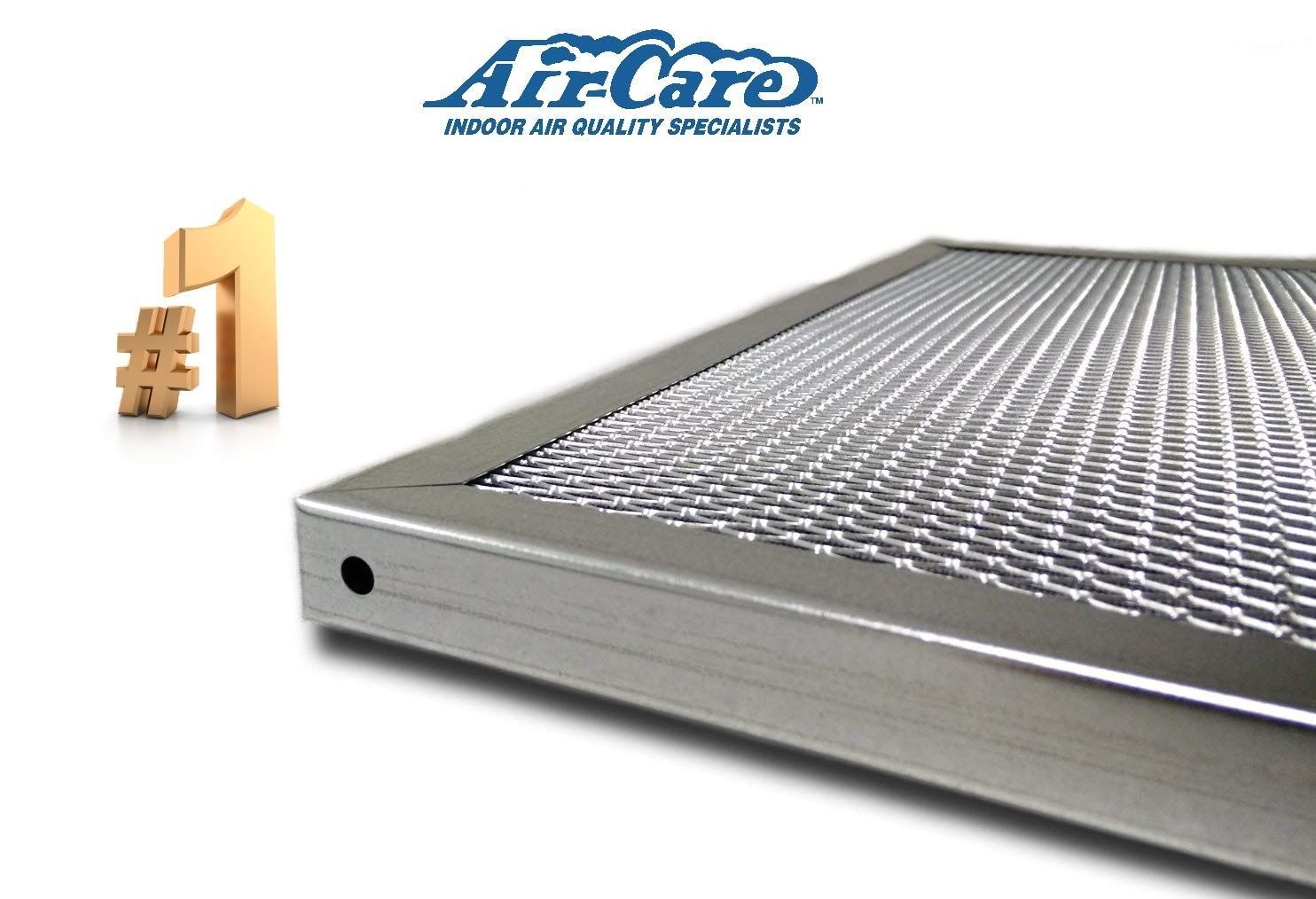 AirCare 24x30x1 Silver Electrostatic Washable A/C Furnace