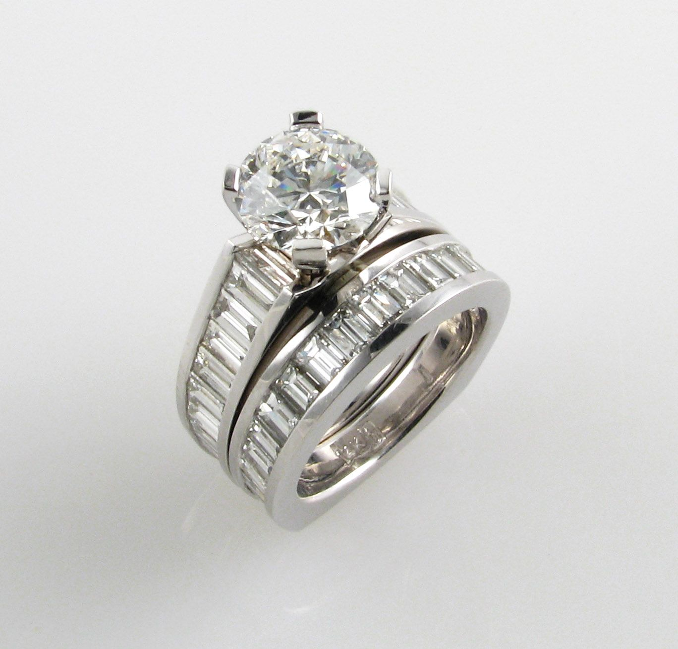 Https Www Jewelrybygauthier Stunning Wedding Band And Engagement