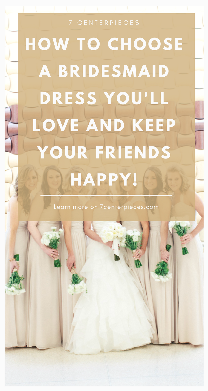Choosing bridesmaid dresses that all my girls would love was so