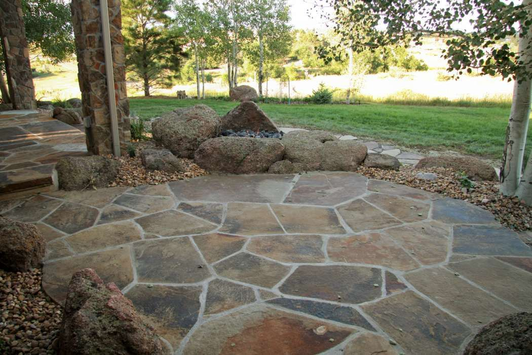 20+ Best Stone Patio Ideas for Your Backyard | Garden ... on Rock Patio Designs  id=99745
