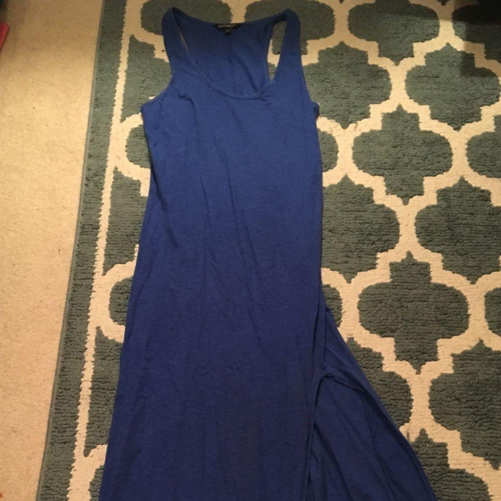 Express high slit maxi dress products