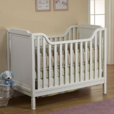 Sorelle Bedford Convertible Crib In French White