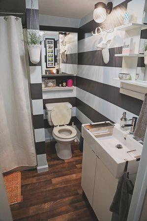 My daughters DIY weekend IKEA bathroom! Before and after bathroom
