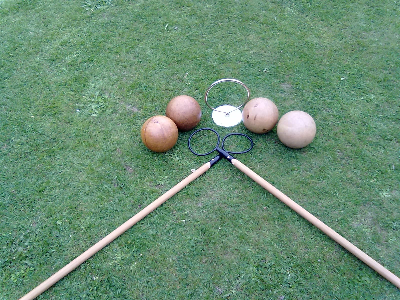 with the help of many the woolston lawn billiards and bat and