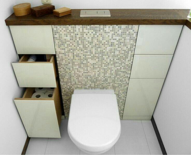 Rangements Wc Suspendu Badkamerideeen Toilet Kast Toiletideeen