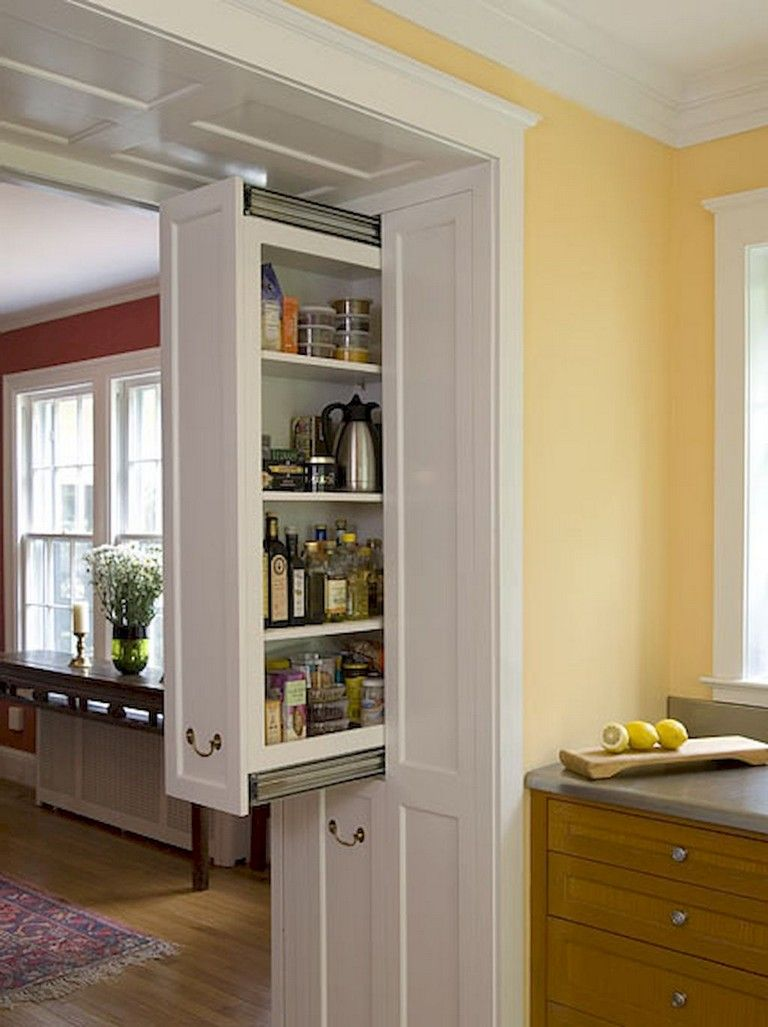 45+ Lovely Kitchen Organization Ideas | Kitchen storage ...