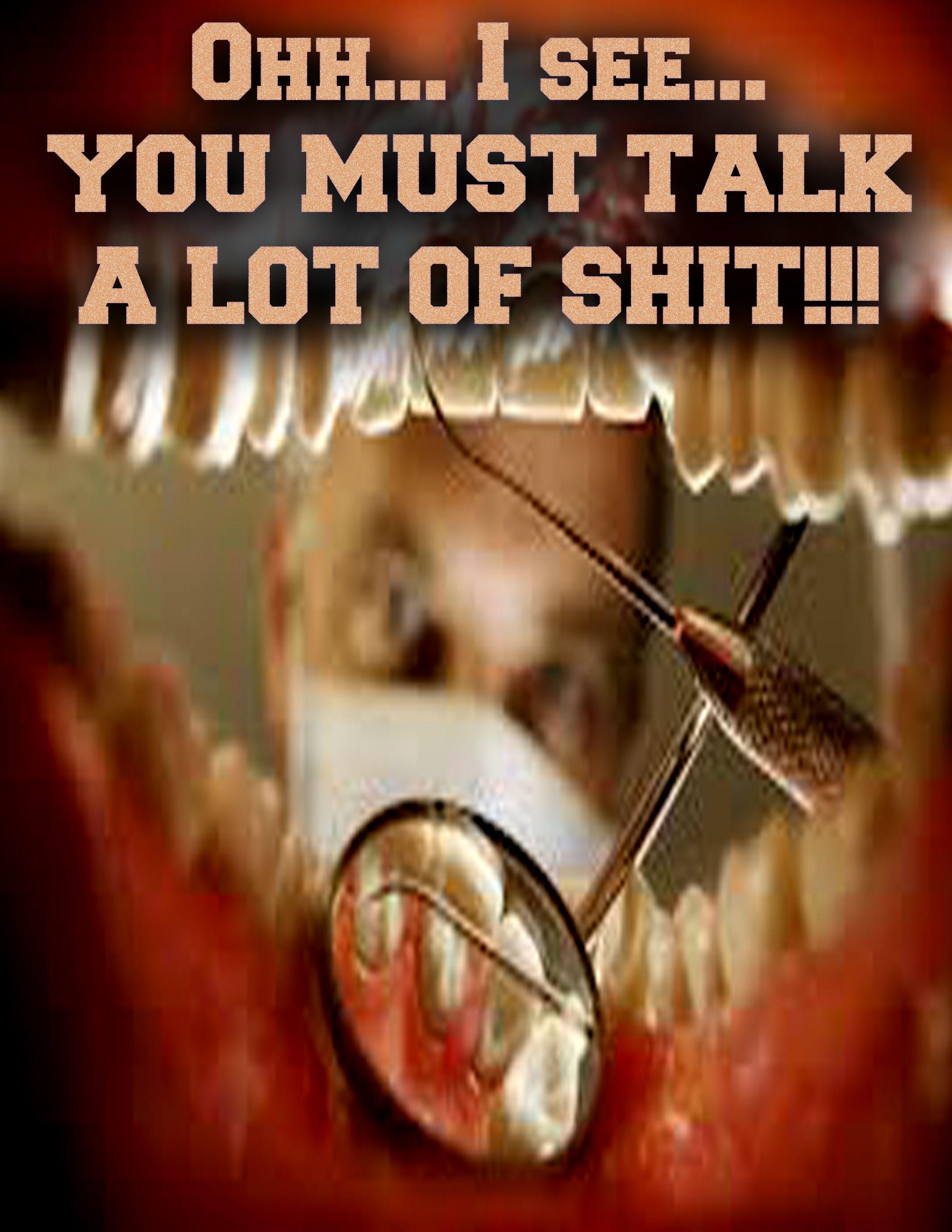 Shit Talking Sea Cow #Shitbreath #Yellowteeth #Stalkingporker