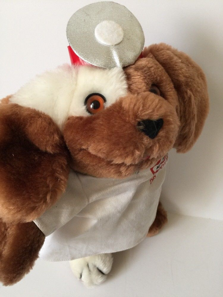 Milkbone Brand Dr Spot Plush Puppy Dog 12 Stuffed Animal Russ