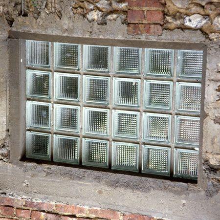 Comment Poser Des Briques De Verre Carreau De Verre Brique En Verre Brique