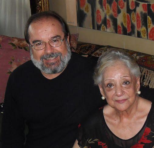 FRANCISCO VELASCO Y SU MAMÁ CLARA VÉLEZ HOYOS.