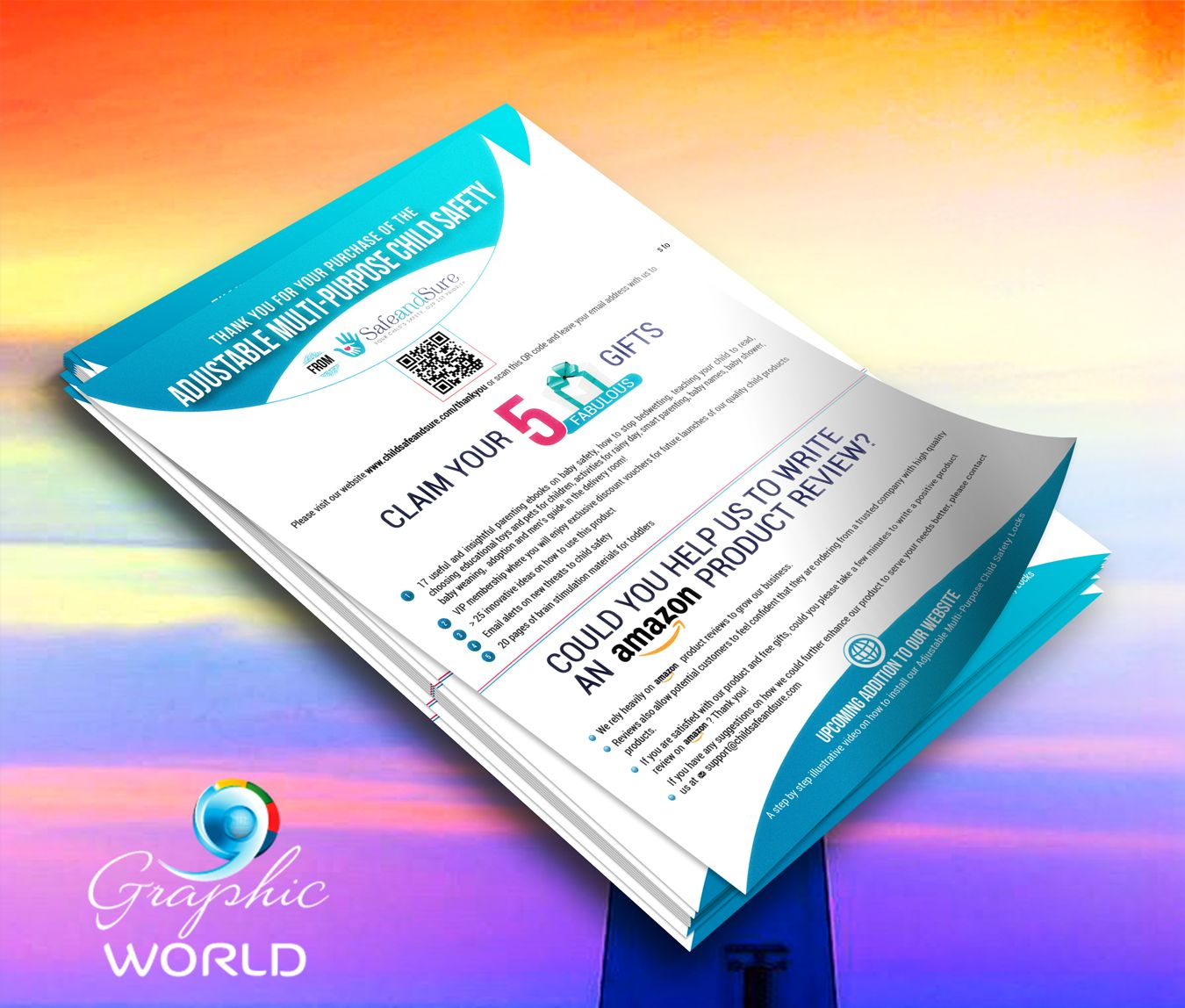 Product Insert Designs http//graphicworld.co Online