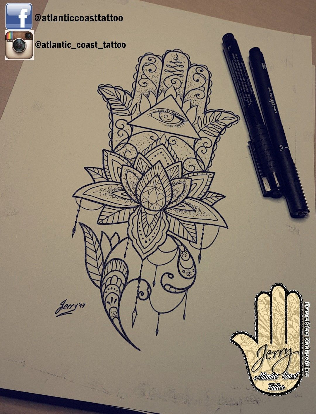Tattoo Idea Design By Dzeraldas Jerry Kudrevicius From Atlantic