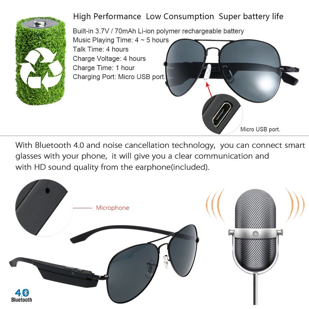 7adc77cea8 ... bluetooth sunglasses