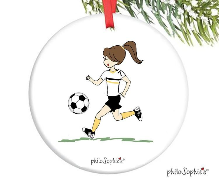 Soccer Ornament – personalized philoSophie's – 14