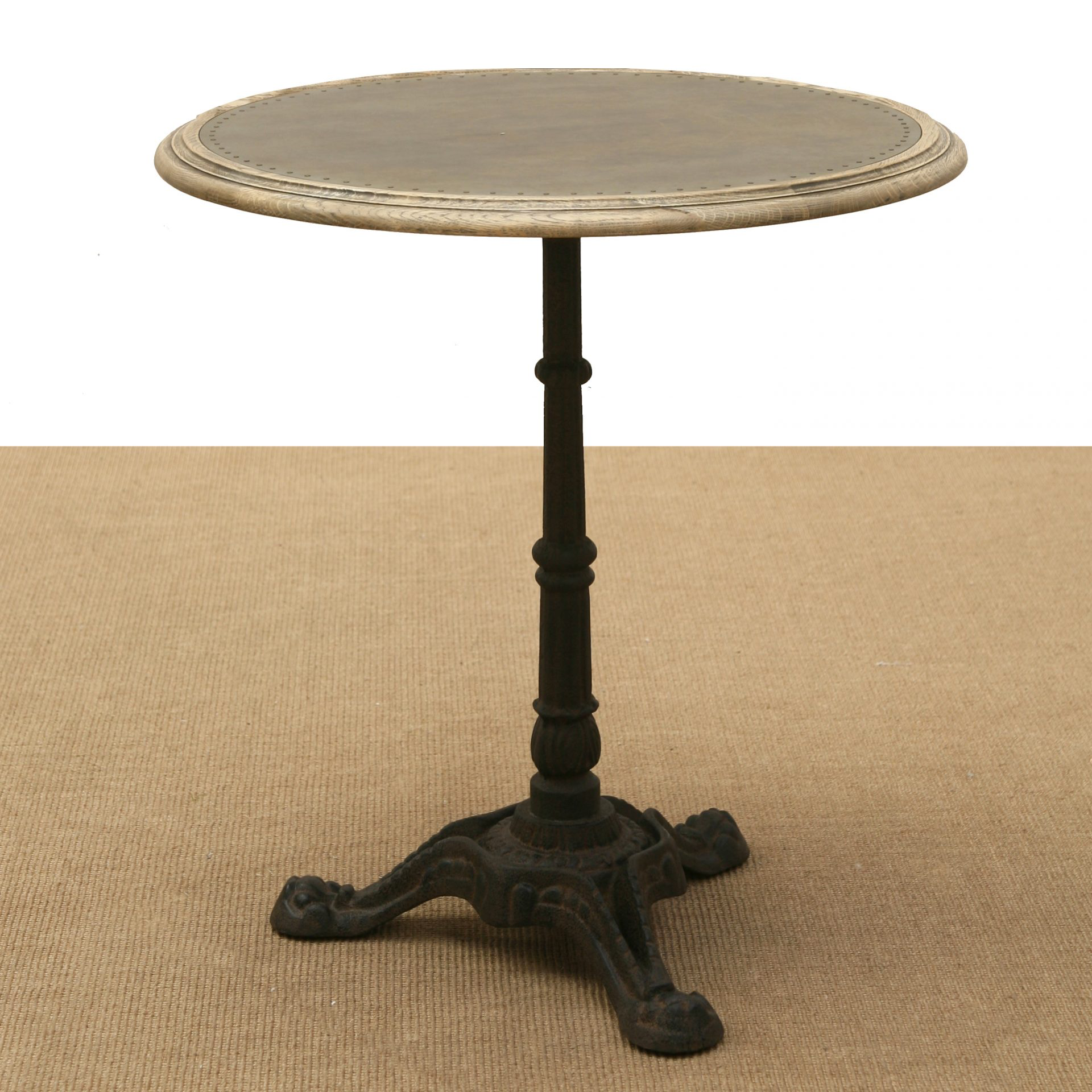French Round Bistro Table Gael Table Antique Bench French Furniture
