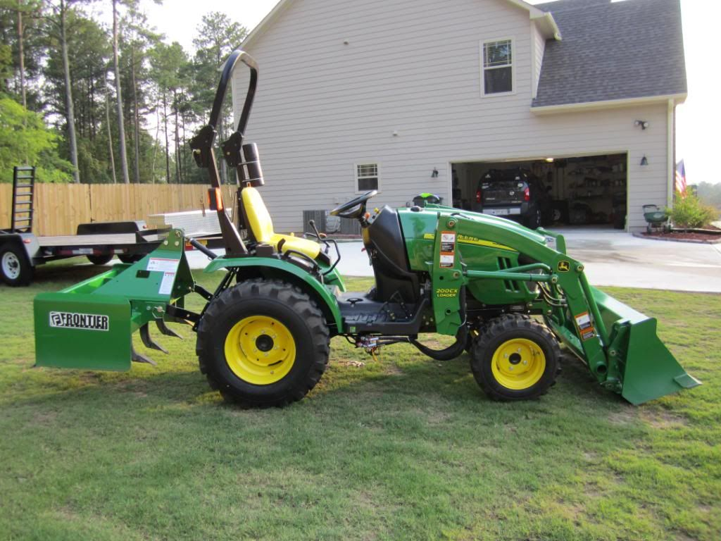 John Deere Compact Utility Tractors John Deere 2320
