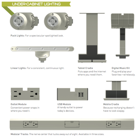 ... people who are wondering what the next big thing is in home tech youu0027ll want to be sure to take a look at the Legrand® adorne™ Under-Cabinet Lighting ...  sc 1 st  Pinterest & If youu0027re one of those people who are wondering what the next big ...