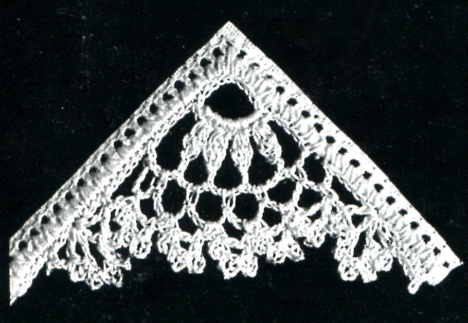 Vintage Crafts and More - Crochet Corner Pattern