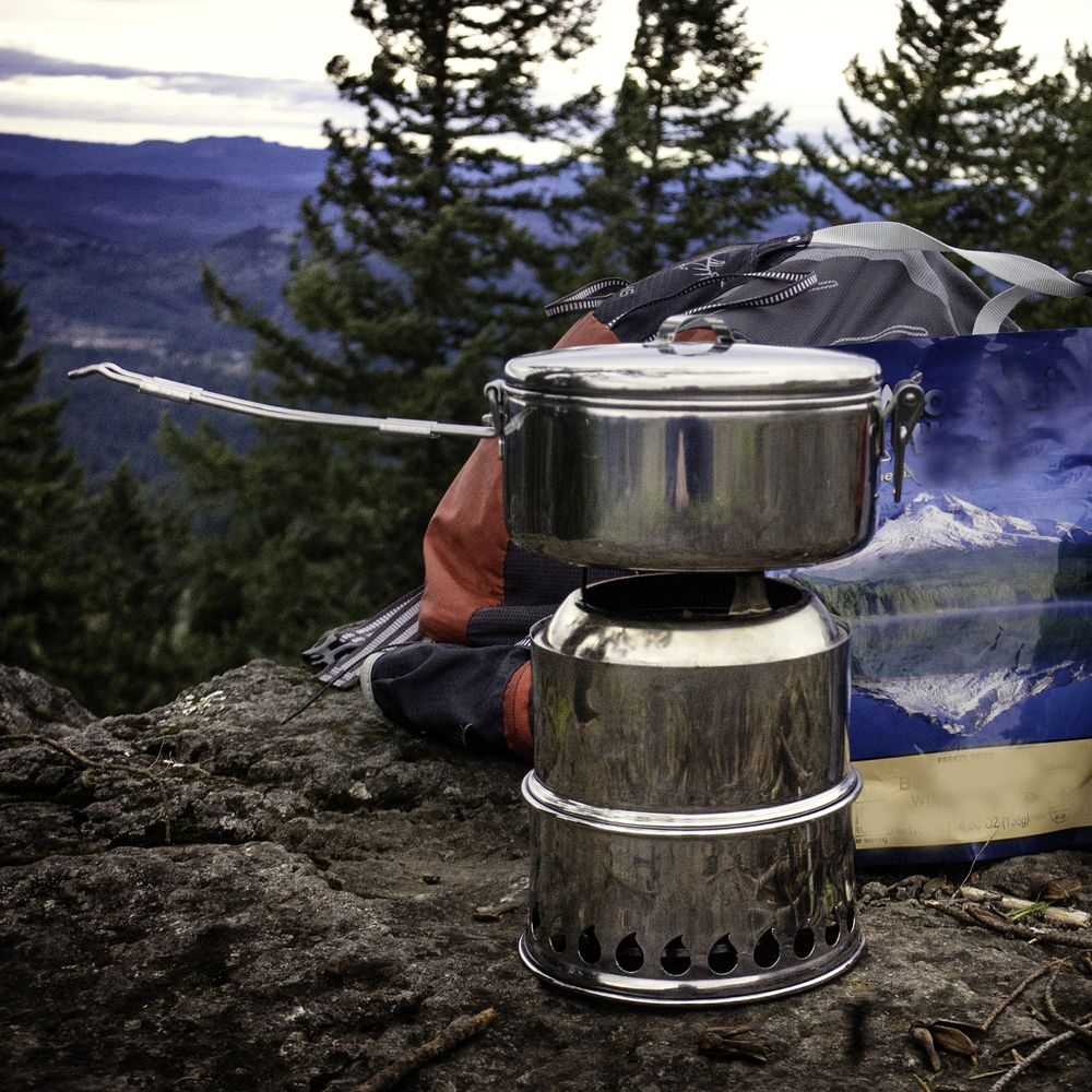 SilverFire Stove with MSR Pot | Cook Sets, Containers, Stoves ...