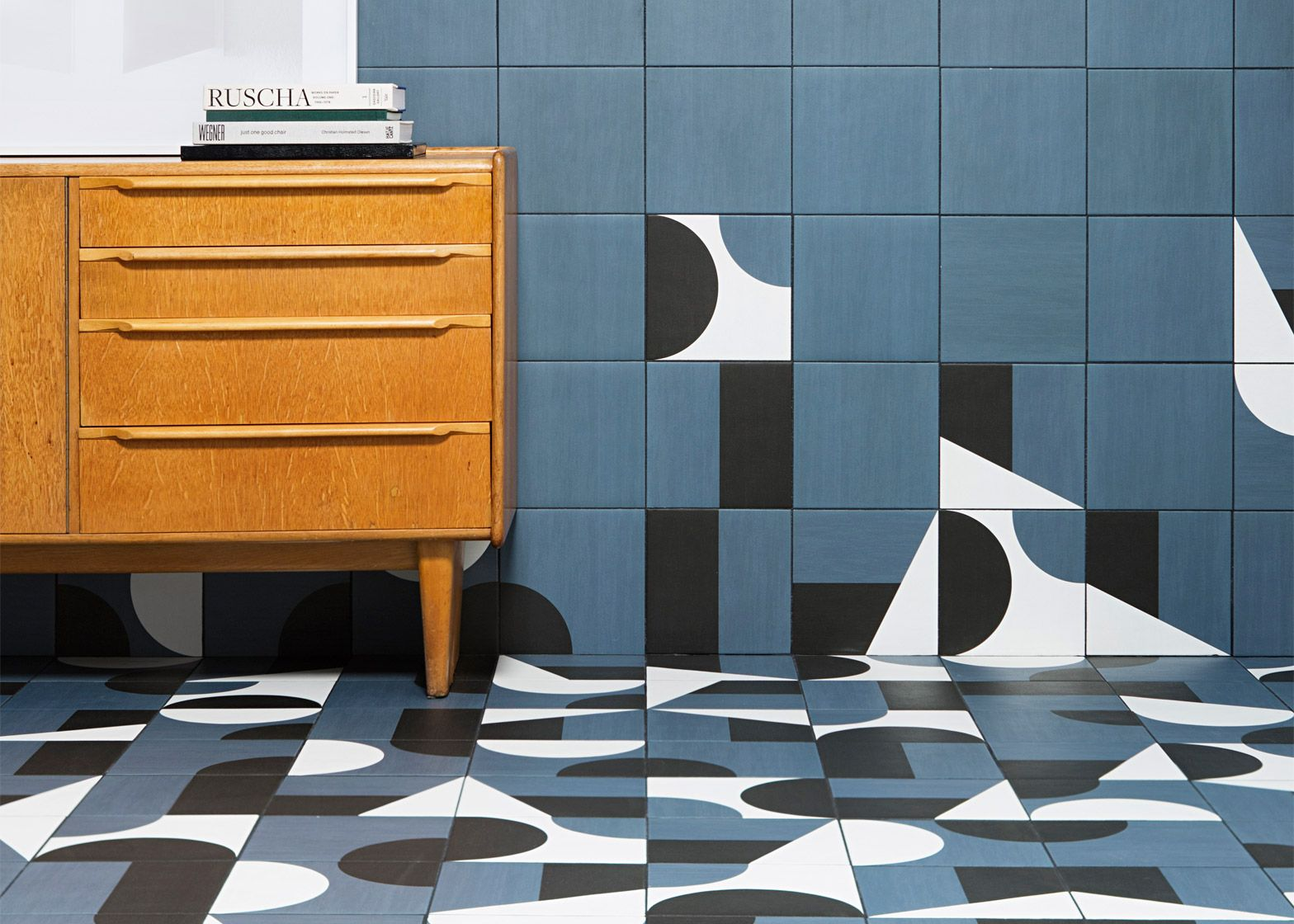 Barber and Osgerby have created a set of patterned geometric tiles ...