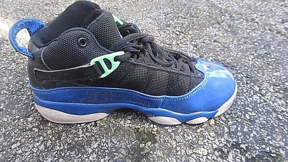 best authentic 72849 7dcb3 Nike Air Jordan 6 Rings black/royal blue/green 323399-039 ...
