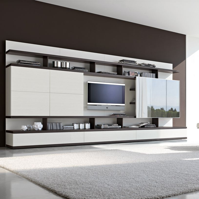 Odion Free Standing Tv Wall System B907