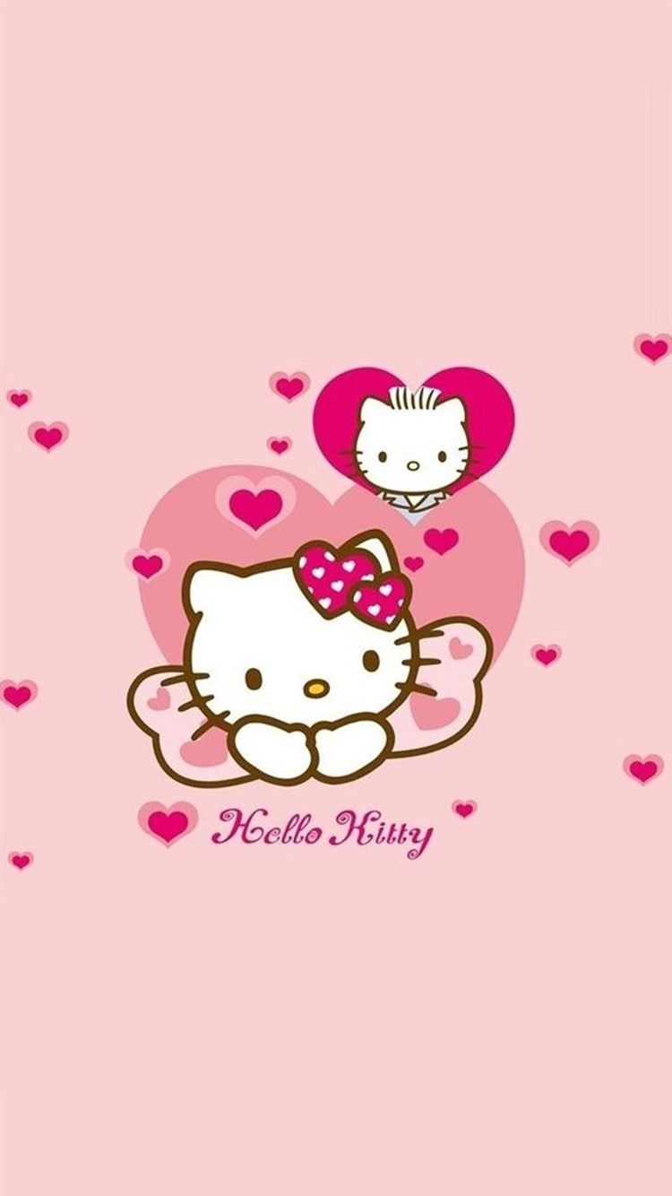 Hello Kitty Hearts Cute Iphone 6 Wallpapers 129 Iphone 6