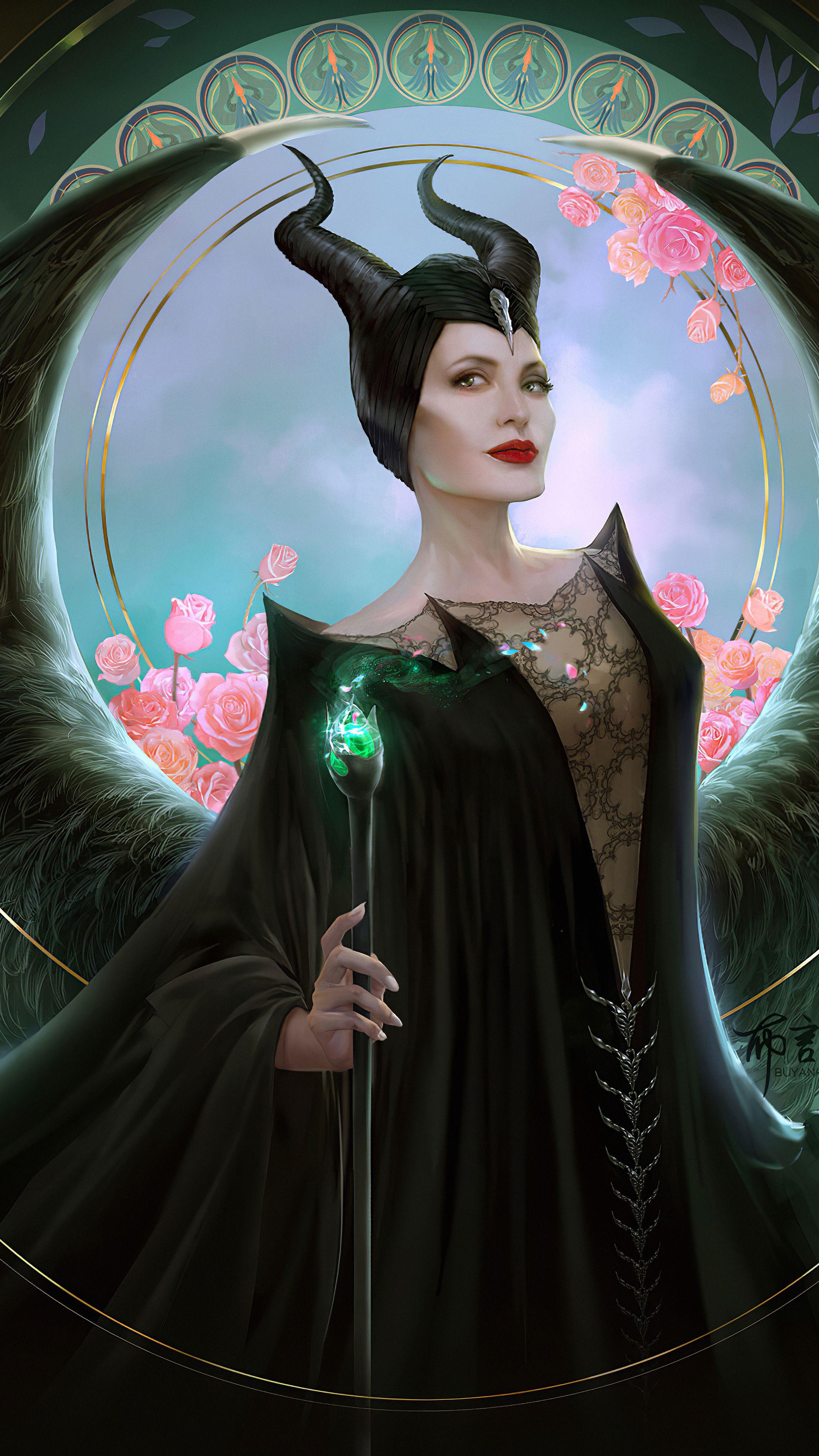 Maleficent 2 Movie Art In 2160x3840 Resolution Evil Disney Maleficent Disney Princess Tattoo
