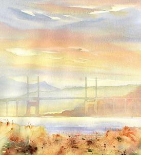 jonathan wheeler art Art, Scenes, Watercolor artist