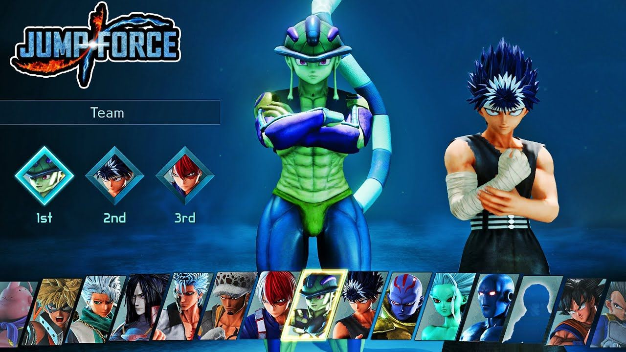 Pin On Jump Force