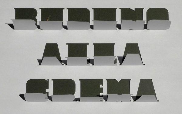 Budino - Typeface by house42 , via Behance