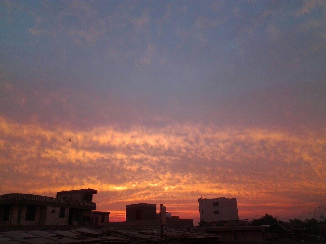 شروق الشمس Clouds Celestial Sunset