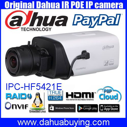 Original english Dahua CCTV 4MP WDR Smart Detection POE Full HD