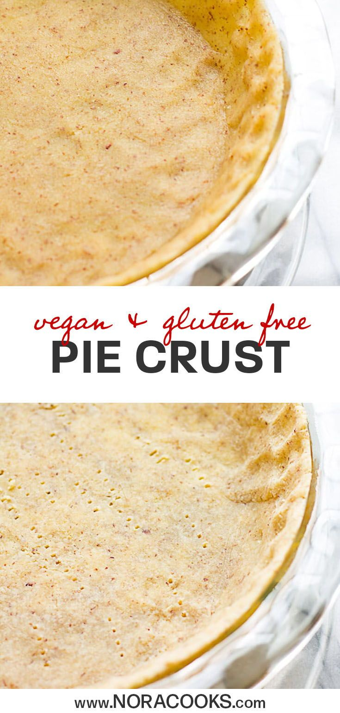 Easy Healthy Pie Crust (Vegan/Gluten Free/Oil Free)